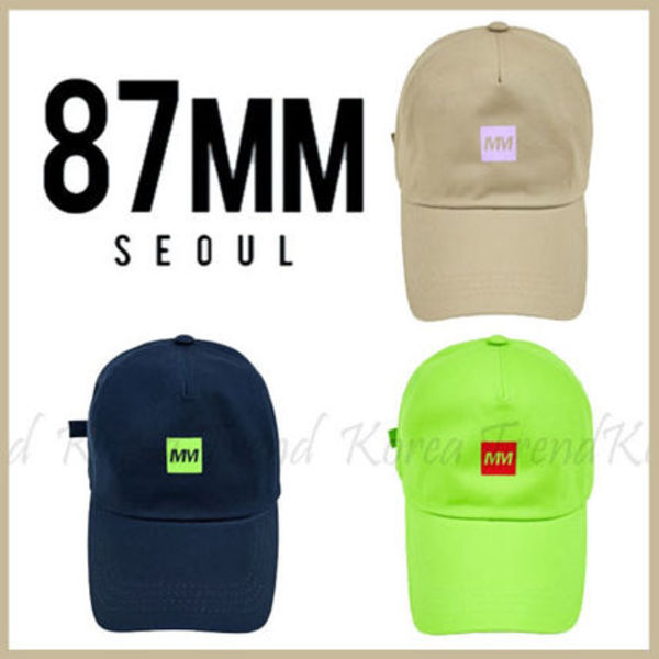 ★87MM_SEOUL★  MM LOGO BALL CAP 3色