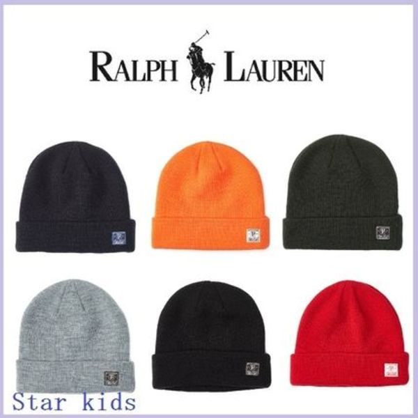 新作!!★Ralph Lauren★Cuffed Knit ハット 全6色♪