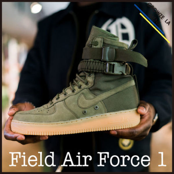 ★【NIKE】日本未入荷!! Special Field Air Force 1 オリーブ