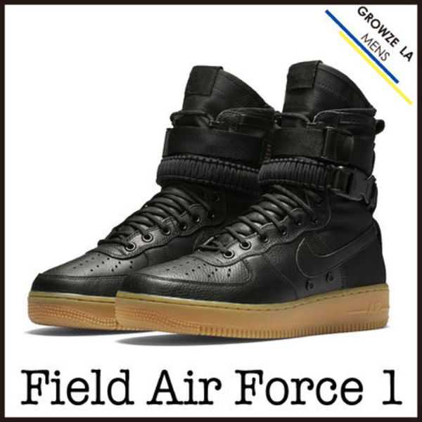 ★【NIKE】日本未入荷!! Special Field Air Force 1 ブラック