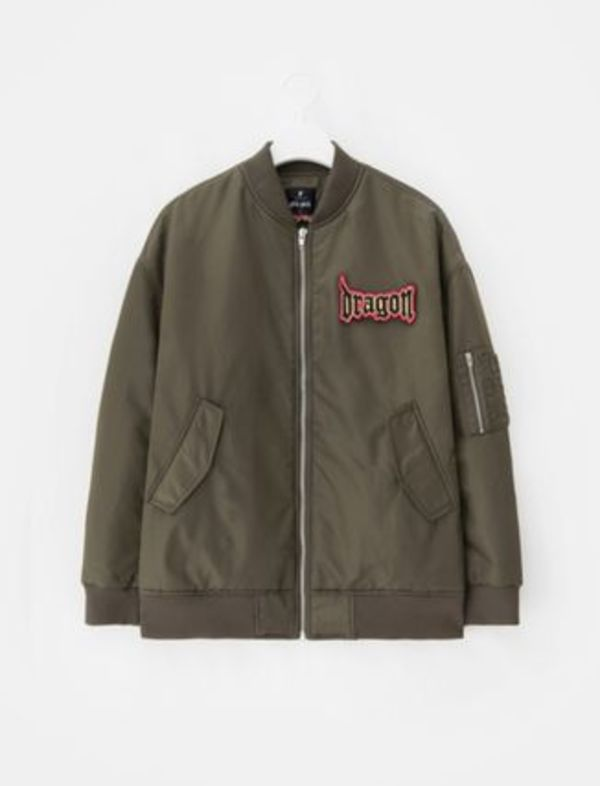 【8 X GD's PICK】G-Dragon MA-1 Bomber Jacket  関税込 国内発