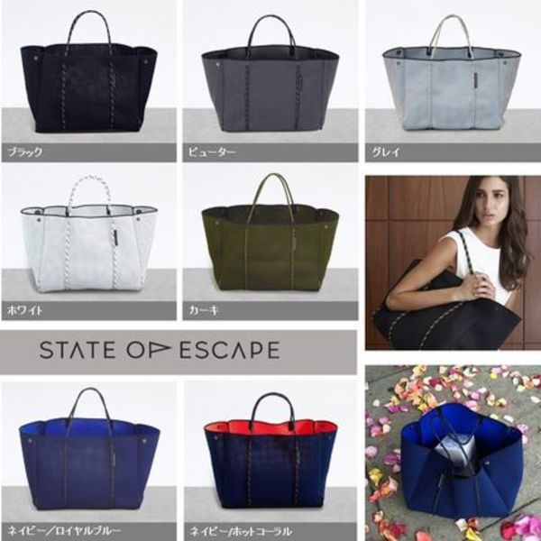 SALE!【State of Escape】トートバッグ ロンハーマン取扱