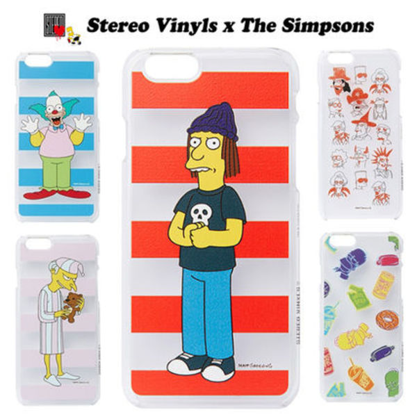 Stereo Vinyls x The Simpsons◆iPhone6/6sケース5種◆追跡発送