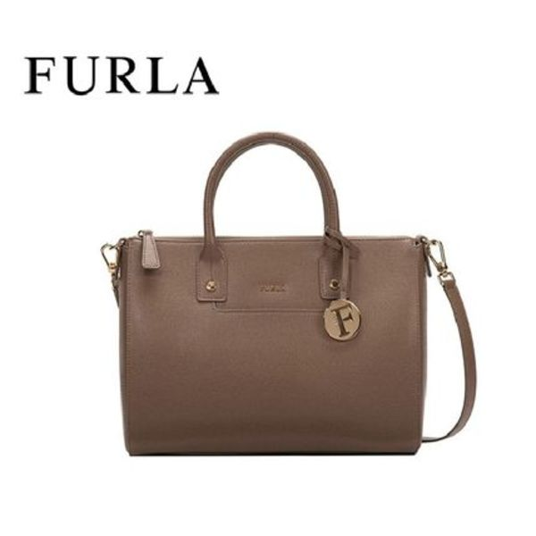 国内即発★FURLA★フルラ Linda M Satchel BED6 COLOR DAINO