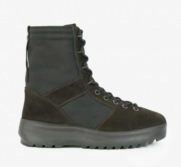 【関税負担】 YEEZY SEASON3  onyx grey military boots