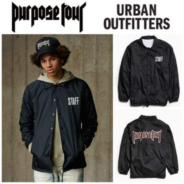 【Justin Bieber愛用】☆海外限定☆Purpose Tour Coaches Jacket