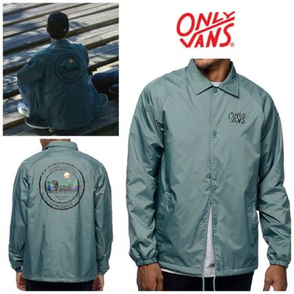 【ONLY NY×Vans】☆16AW新作☆話題コラボ☆Coaches Jacket