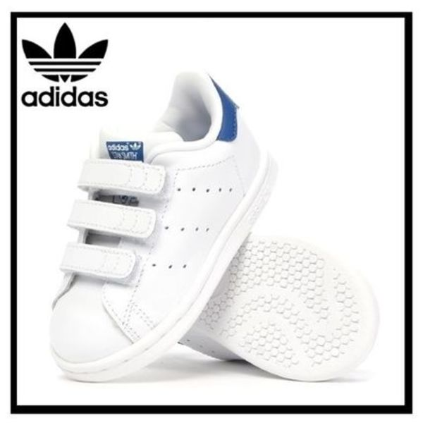 ★adidas STAN SMITH CF I /ベビー&キッズ 乳幼児/希少(S74782)