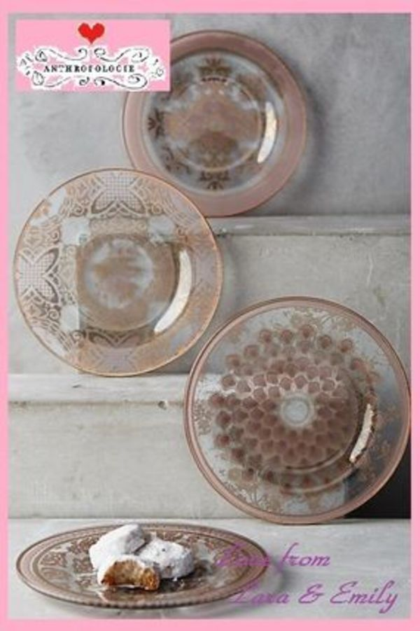 16AW*最安値☆関税送料込【Anthro】Renesse Canape Plate Set:4