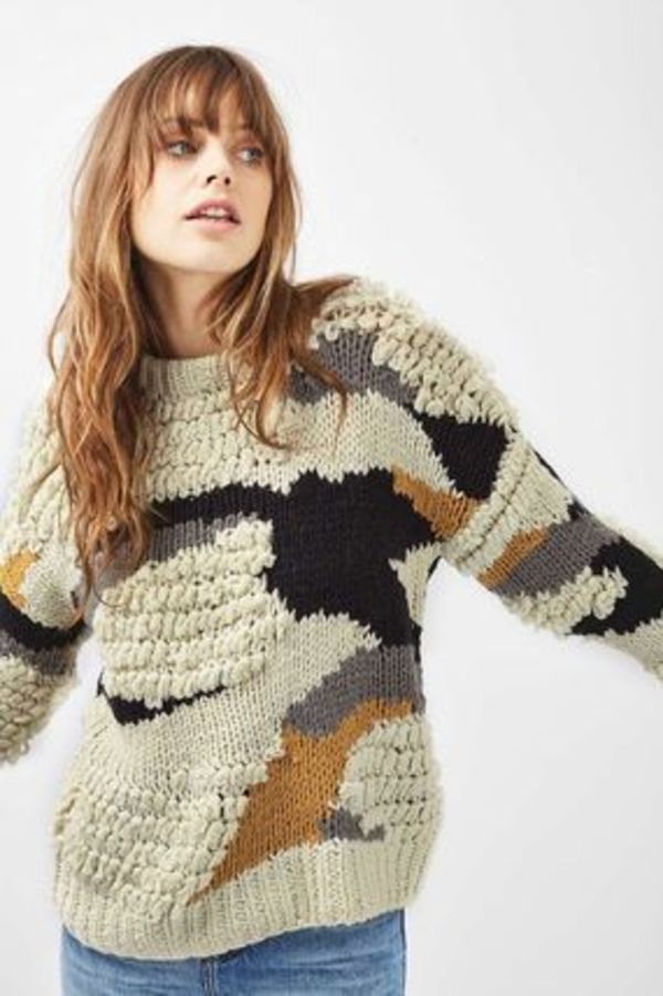 《ハンドメイドニット♪》☆TOPSHOP☆Hand Knitted Jumper
