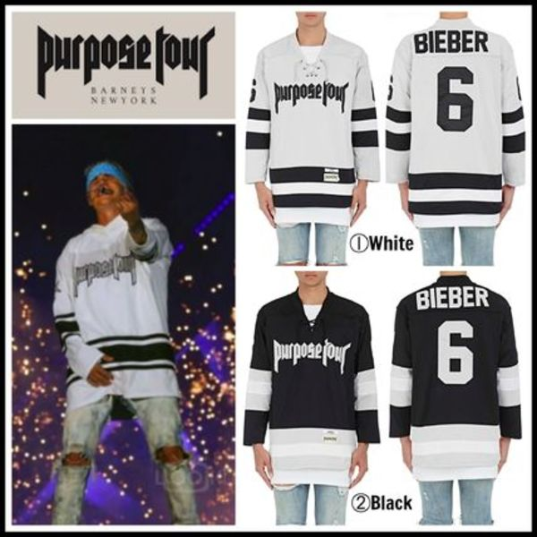 【Justin Bieber愛用】☆海外限定☆Purpose Tour Hockey Jersey