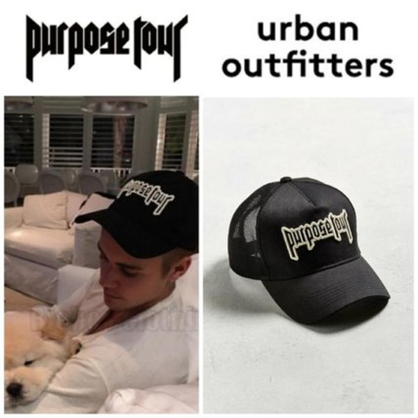 【Justin Bieber愛用】☆海外限定☆Purpose Tour Trucker Hat