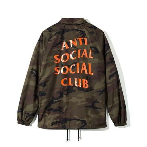 2016AW ANTI SOCIAL SOCIAL CLUB Camo Coach Jacket