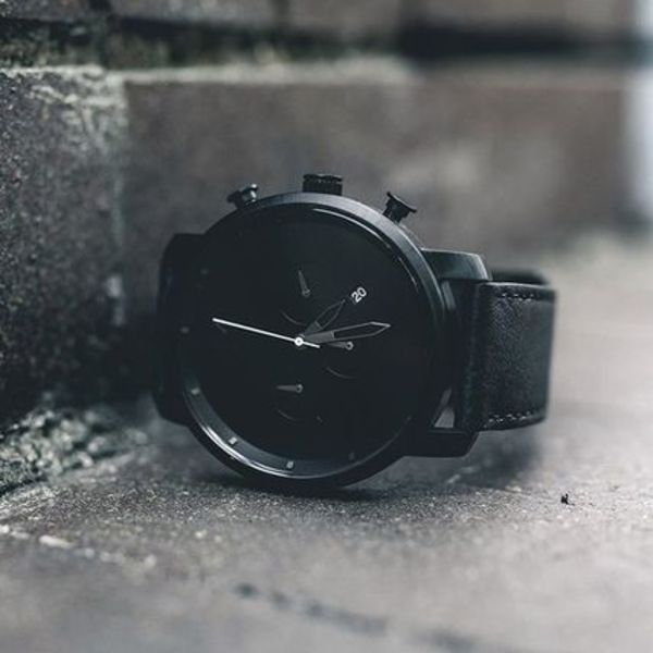 CHRONO/BLACK LEATHER【送料・関税込】