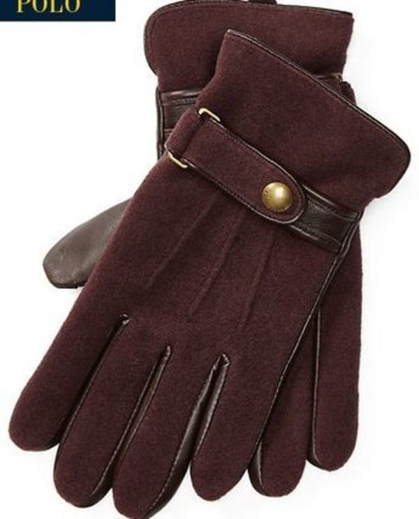 新作!★セール★送料関税込★Wool-Blend Touch Screen Gloves