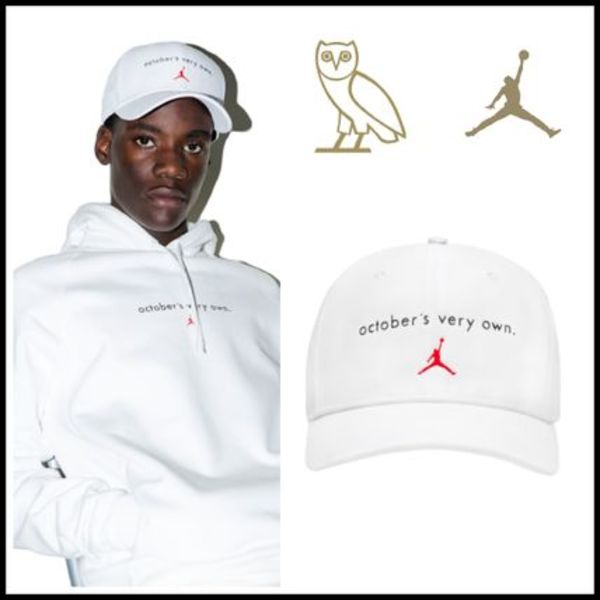 【OVO×JORDAN12】☆16AWコラボ☆OCTOBER'S VERY OWN CAP WHITE