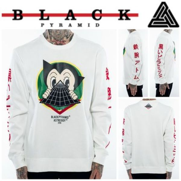 【Chris Brown愛用】☆16AW新作☆ASTRO LURKING CREW NECK