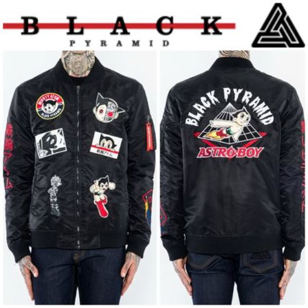 【Chris Brown愛用】☆16AW新作☆MULTI PATCH ASTRO JACKET