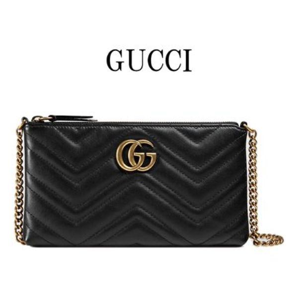 17SS GUCCI〔GGマーモント〕 ミニ チェーンバッグ 443447 DRW1T