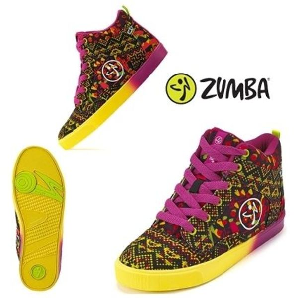 国内発/送料込!ZUMBA☆Kingston Vibes Street Fresh スニーカー