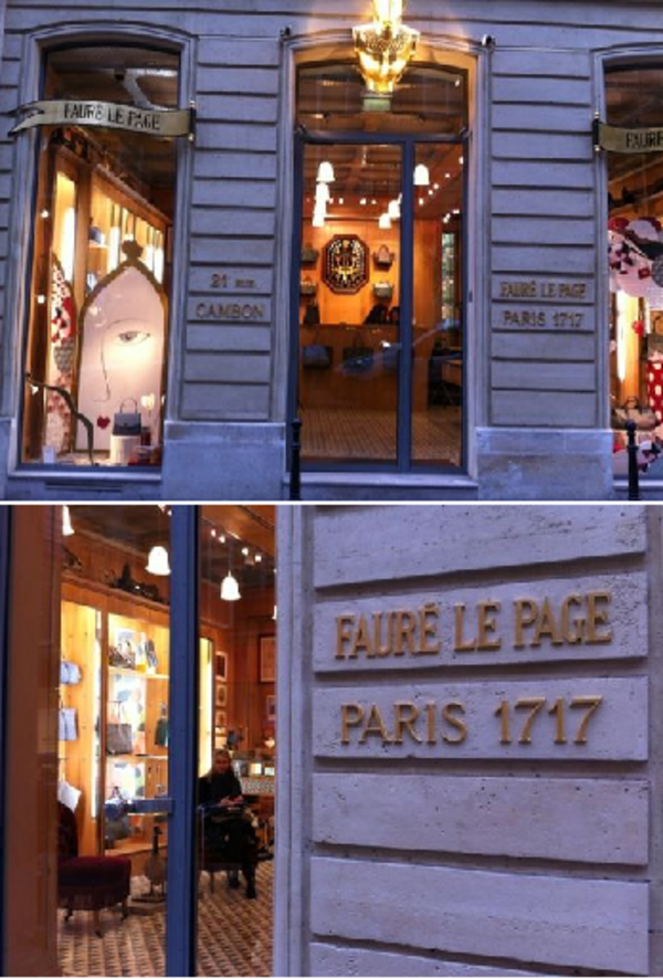 Faure Le Page フォレ・ル・パージュ バッグ
