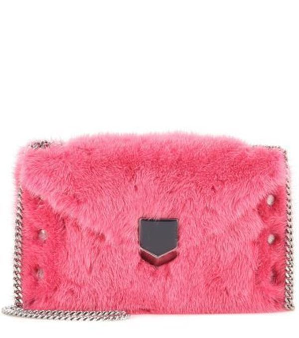 JIMMY CHOO★ETT ENVELOPE mini ファーバッグ