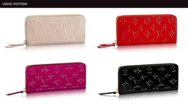 Louis Vuitton☆パテントCLEMENCEウォレット☆