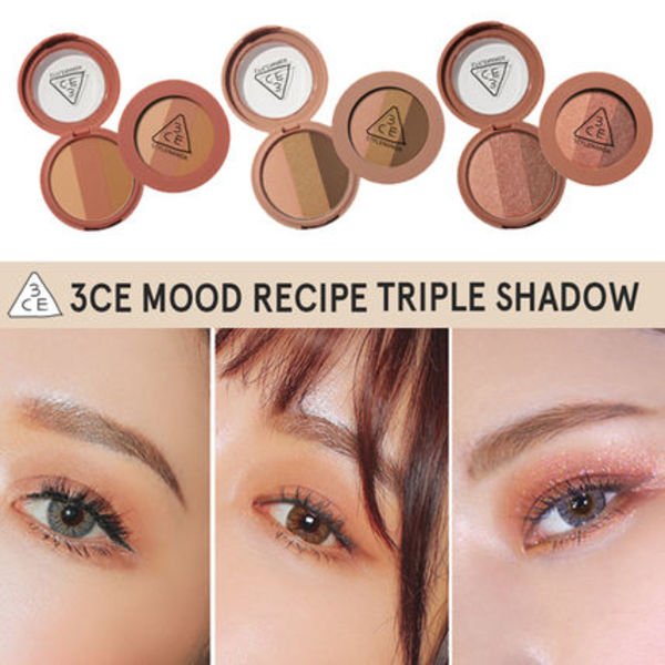 [NEW]3CE MOOD RECIPE TRIPLE SHADOW _トリプルシャドー