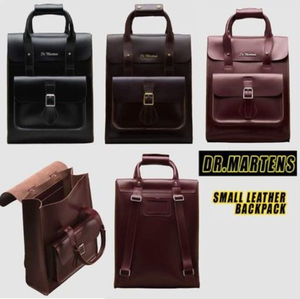 Dr Martens☆SMALL LEATHER 2WAY BACKPACK 全3色