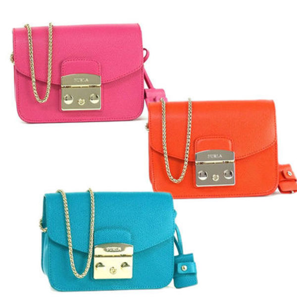 FURLA ショルダーバッグ METROPOLIS MINI POCHETTE CROSS BGZ7