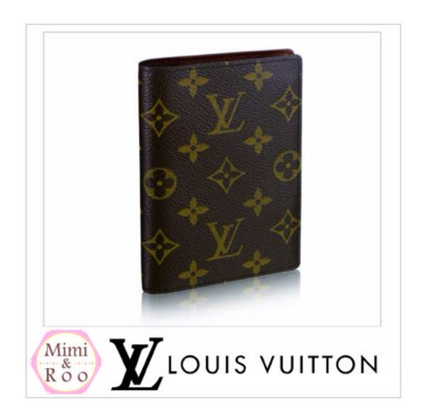 Louis Vuitton*モノグラム*COUVERTURE PASSEPORT*パスポート