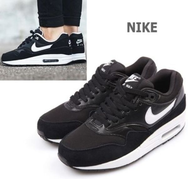 ★NIKE.正規品.Air Max 1 Essential-Black/White-レディース★