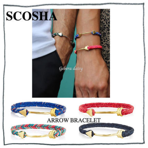 ロンハーマン取り扱い★NY発 SCOSHA★NEW COLOR★ARROW BRACELET