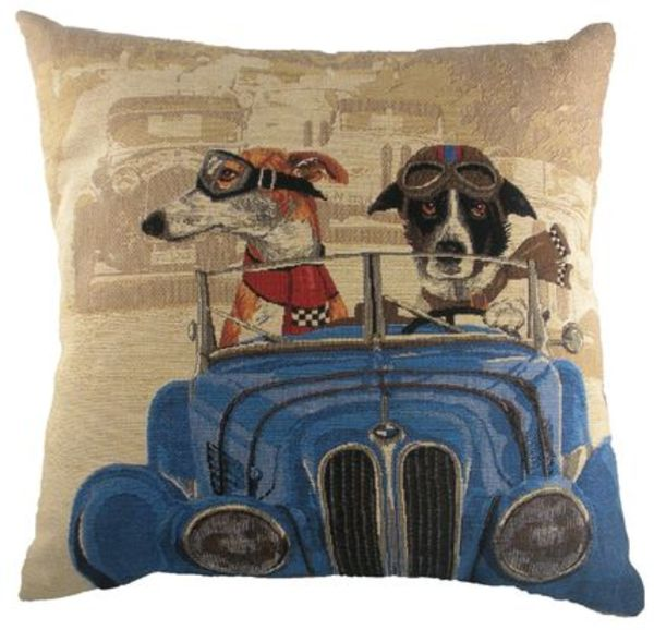 Wacky Races Belgian Tapestry Cushion