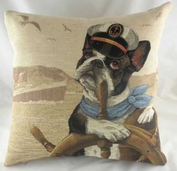 Sea Dogs Navigator Belgian Tapestry Cushion