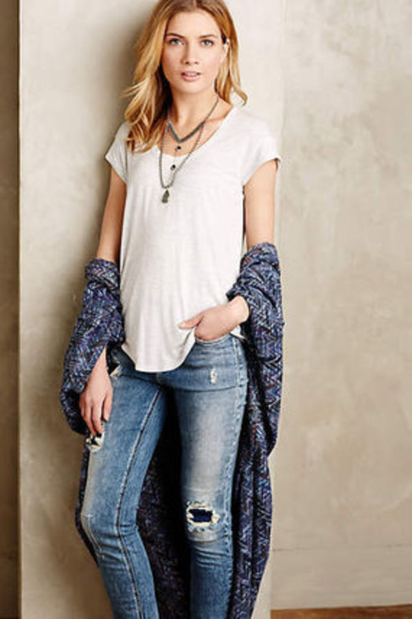 Anthropologie☆Weekend Scoop Tシャツ