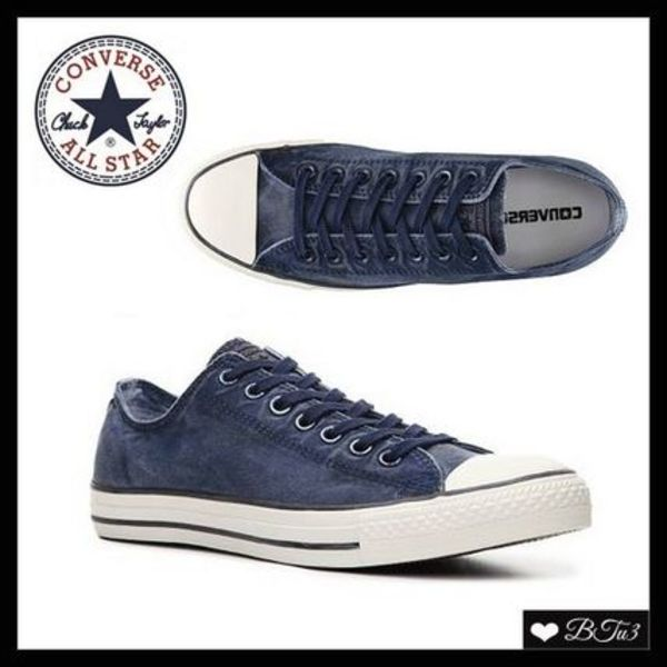 Unisex*Chuck Taylor All Star Washed スニーカー*Navy Blue