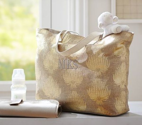 【POTTERY BARN】セール!! Luxe メタリック バッグ
