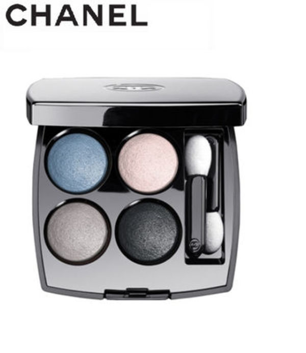 【CHANEL】★LES 4 OMBRES #224 TISSE RIVIERA ★パレット★青系