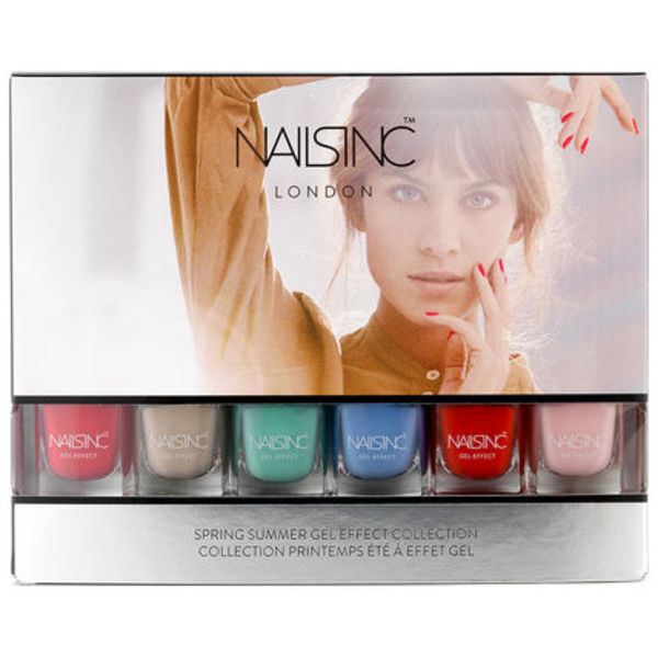 【日本未入荷】Nails Inc SPRING SUMMER MINI GEL EFFECT 6点入