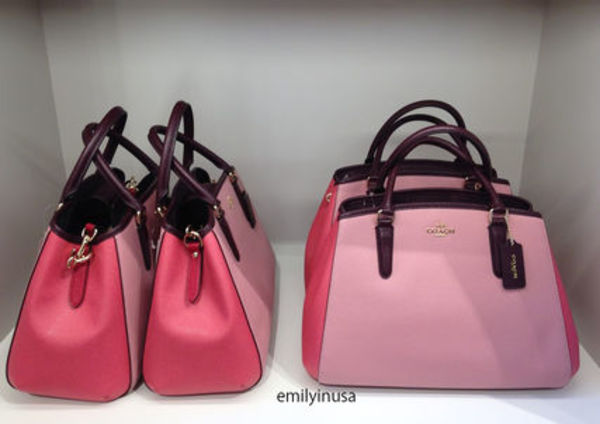 COACH★1月新作★SMALL MARGOT 2way F57497*STRAWBERRY