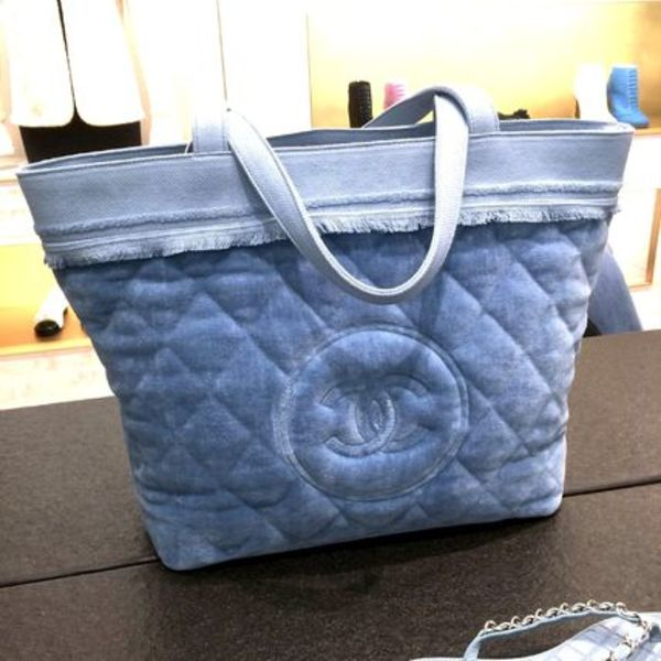 """PARIS-SALZBURG""☆CHANEL/15A ACT1【SAC SET de PLAGE】☆BLEU"