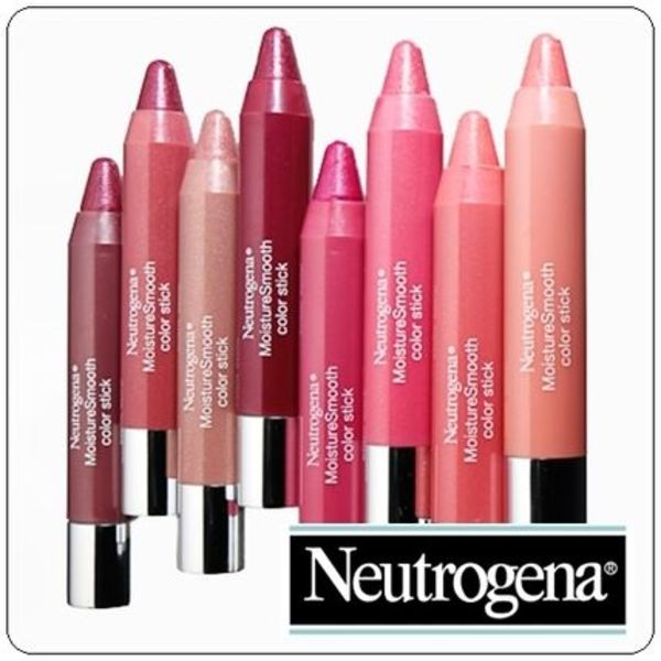 Neutrogena ★ MoistureSmooth Color Stick ★ リップクレヨン
