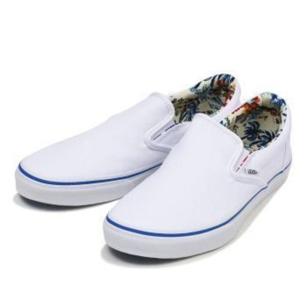 【国内正規品】VANS SLIP ON WHITE V98CL LALH