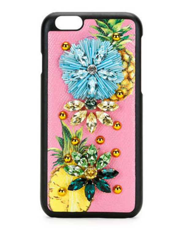 追跡有! Dolce&Gabbana/ Fruit Crystal iPhone 6/6s Case