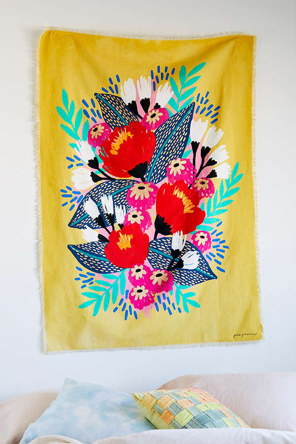 Jess Phoenix Artist Series Jungle Bird Tapestry
