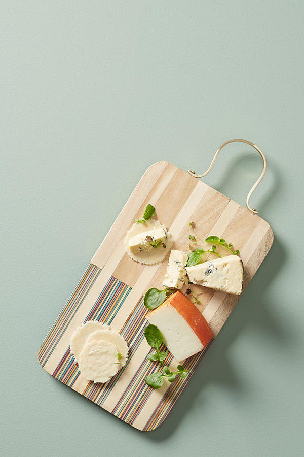 Wood Inlay Cheese Board