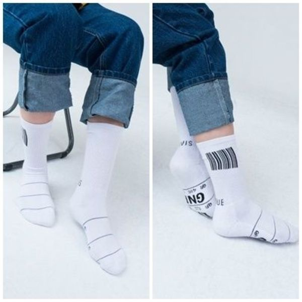 日本未入荷 LUV IS TRUEの (UNISEX)AP GNB SOCKS