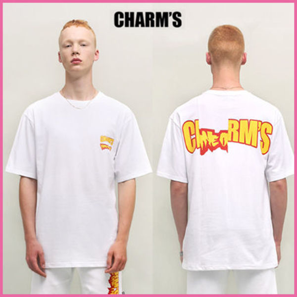 【CHARM'SX91.2】正規品★コラボLOGO OVERSIZE TシャツWH/追跡付