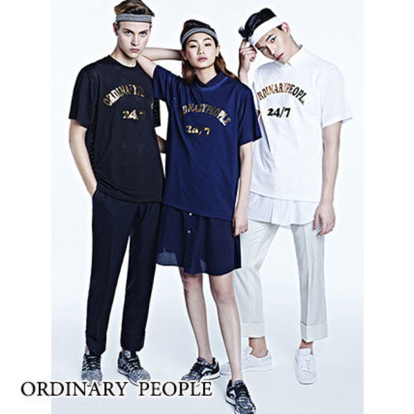 【Ordinary People】数量限定★FINALE メッシュTシャツ/追跡付